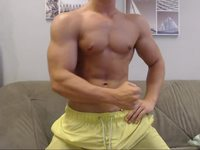Belami Muscle Guy Yannis Webcam Showing His Body and Ass