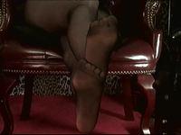 Pantyhose Foot Worship