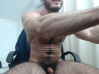 Savis Muscles Private Webcam Show