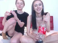 Freya & Damien Black Private Webcam Show