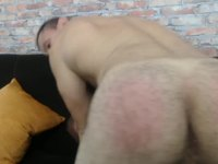 Alex Dixon's Nude Body Webcam Show with Ass Dancing and Dog Style