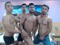 Hot Latino 3some Spanking Ass