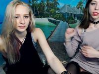 Elly & Sylvia Private Webcam Show