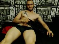 Here I Am Playing with My Dick!