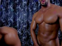Vin Goddness & Dwayne Muscle Private Webcam Show