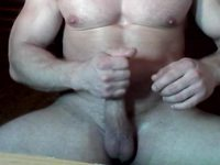 Muscle King Private Webcam Show - Part 2