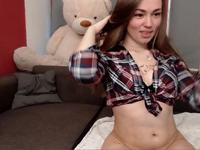 Let Me Tease You a Little by Webcam Showing You My Butt and My Pussy