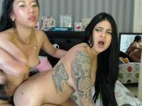 Miia & Valentina Private Webcam Show