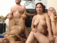 Dallas & Brenda & Fanny & Lacey Private Webcam Show