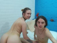Teresa & Oliver Private Webcam Show