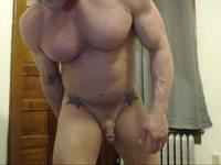 American Performer Webcam Shows His Pierced Cut Cock