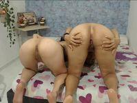 Melanie & Lupe Private Webcam Show