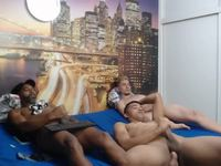 Bobby & King & Willie Private Webcam Show